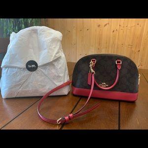 Coach mini sierra satchel bag